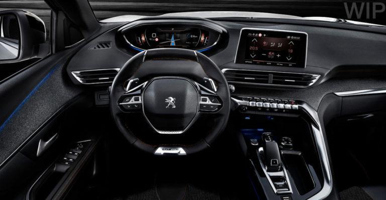 Peugeot i-Cockpit al descubierto