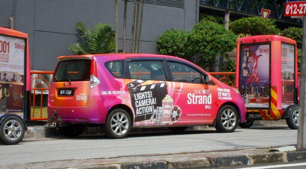 publicidad en tu coche