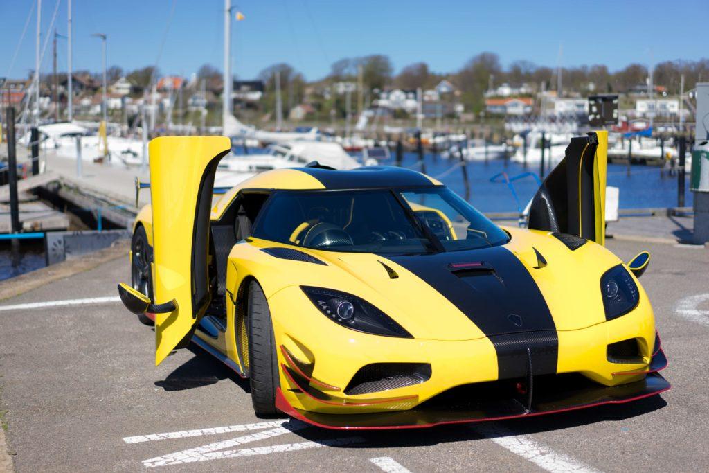 fotos del coche más rápido del mundo