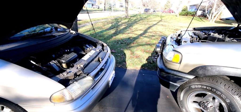 cargar bateria coche pinzas