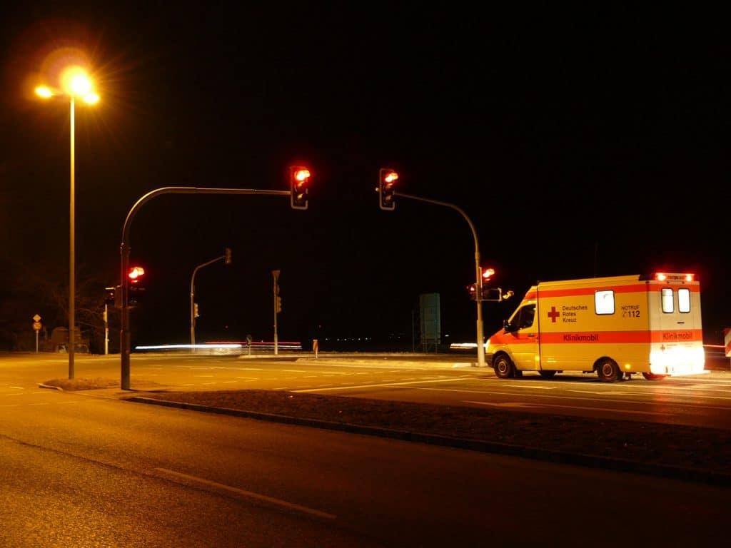 multa por semáforo en rojo