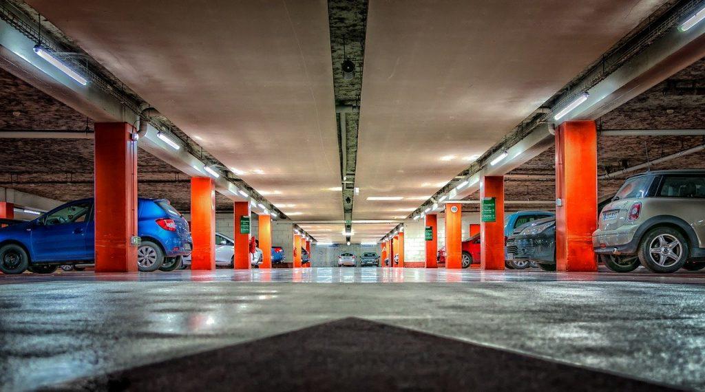 medidas plaza garaje