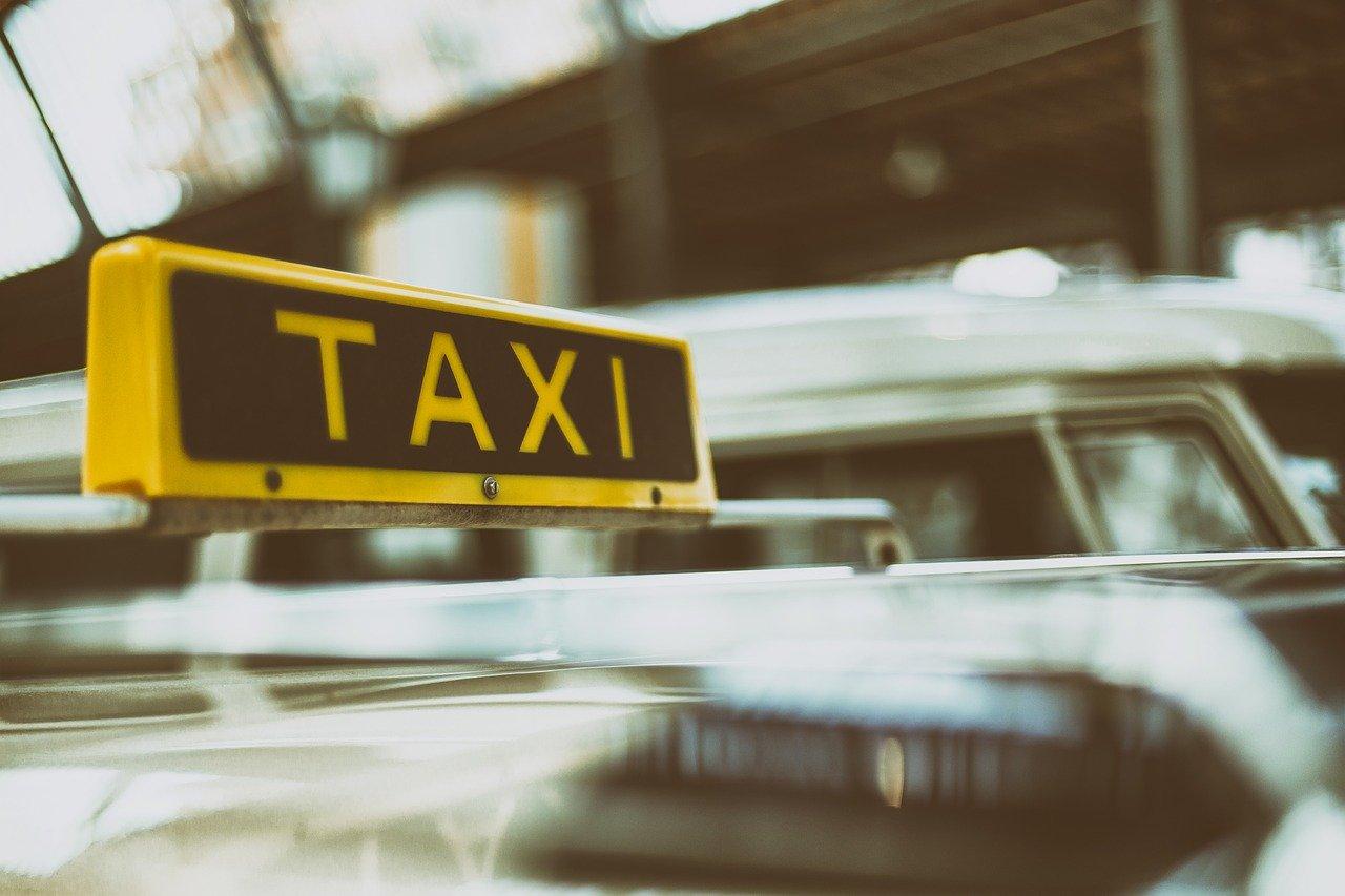 matricula azul taxi