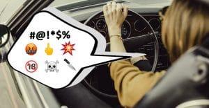Según un estudio, las personas que dicen palabrotas al volante son más inteligentes 🤬🚗